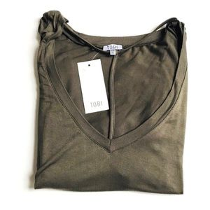 Tobi Tops - NWT Tobi Strappy Collar T-shirt - Large